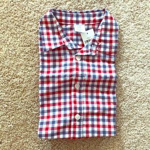 Plaid button up shirt - Baby Gap